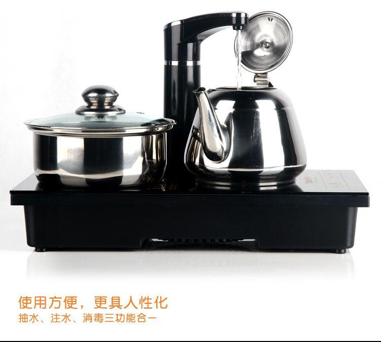 流线型外观设计,人性化结构设计,美观时尚,操作简便,与各类电茶壶