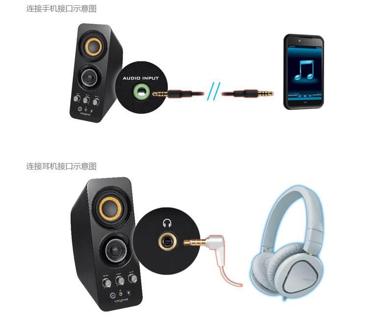 创新T30带NFC功能的2.0无线音箱