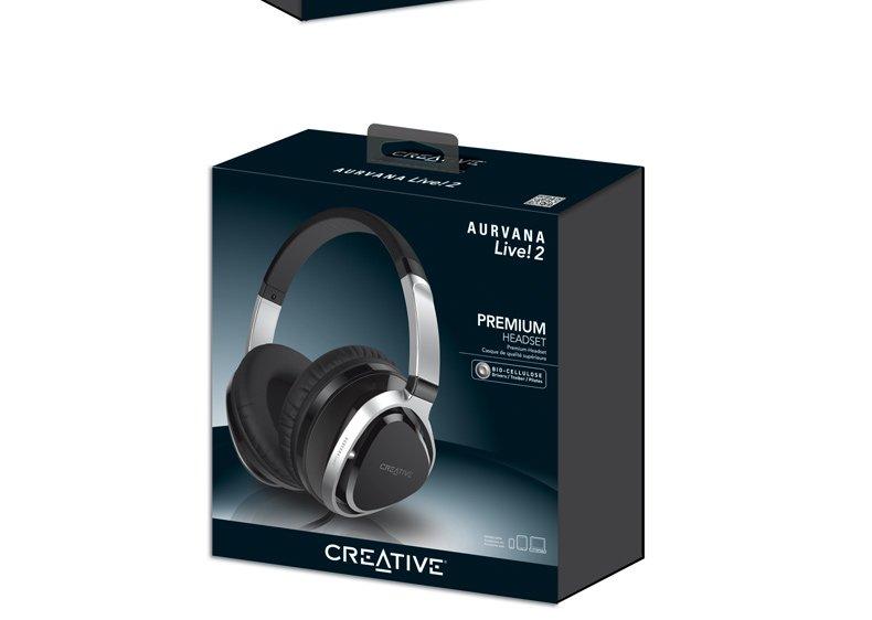 >CREATIVE 创新 Creative Aurvana Live!2耳麦