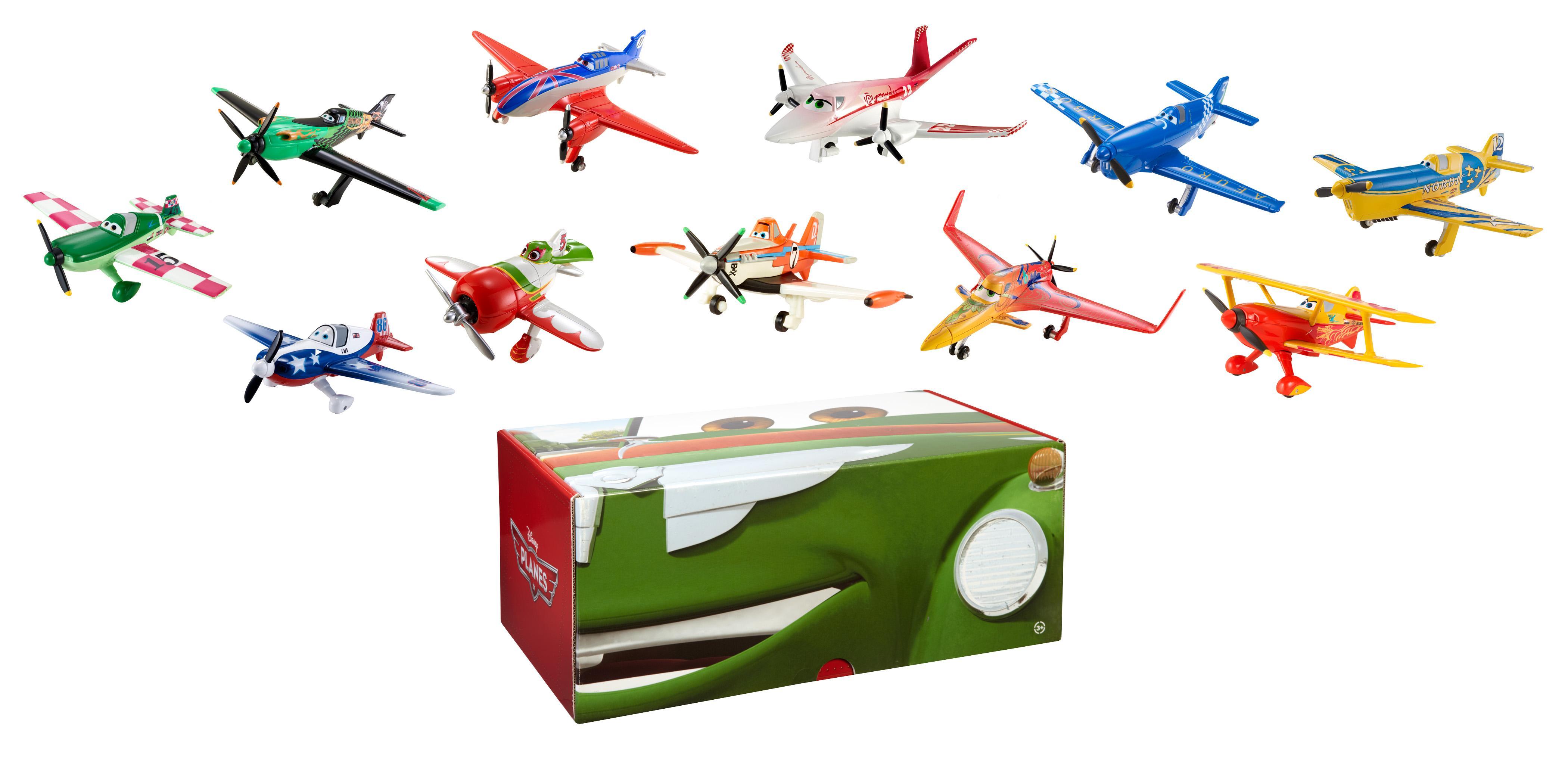 飞机总动员压铸模型