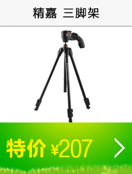 Vanguard 精嘉 Espod CX/203AGH 摄影三脚架 (黑色)