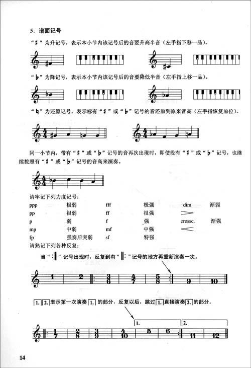 圆舞曲a小调谱子
