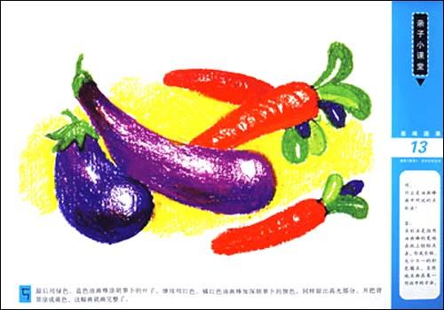 目录 油画棒  青菜和蘑菇  萝卜和大葱  丝瓜和辣椒  南瓜和豌豆