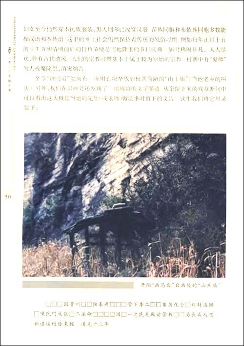 ...岩画族属推断 四、岩画所在地的古今族属 三、贵州岩画年龄推...