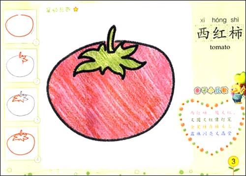 漂亮准妈妈网蕃茄简笔画;
