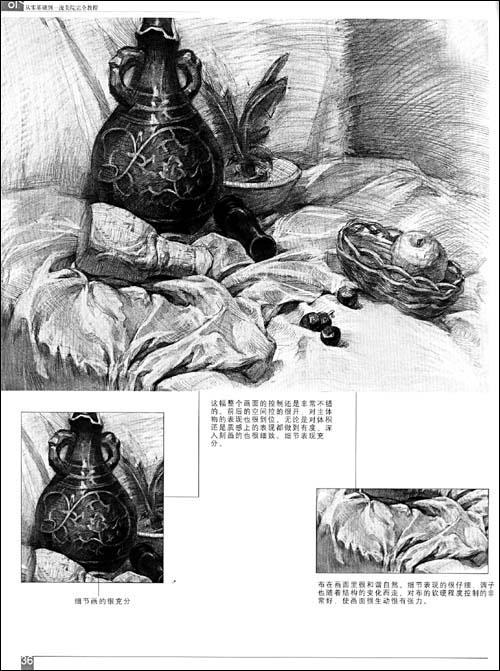 罐子的素描结构图头像 静物结构素描罐子视频 素描罐子结构图