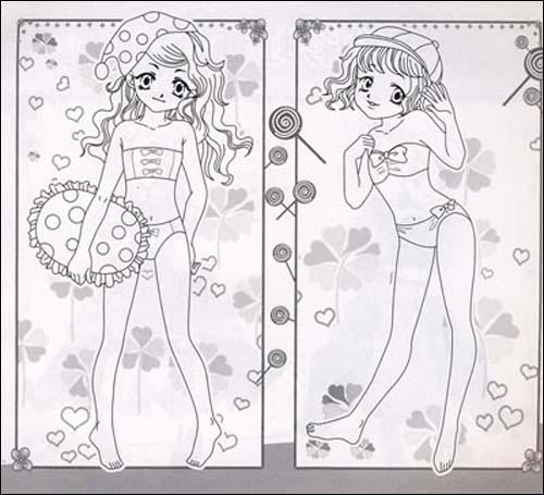 漂亮小公主简笔画大全步骤