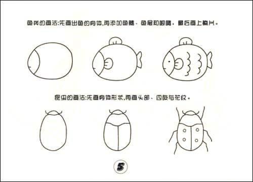 儿童简笔画大全 动物