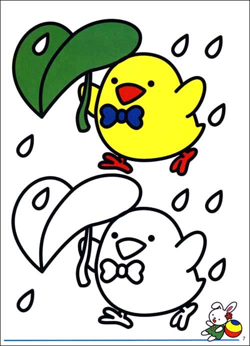 童书绘画画涂鸦涂画)宝宝涂色; 全8册 能促进宝宝智能发展的涂色书