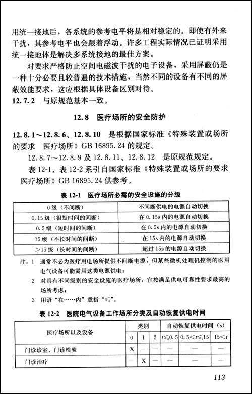 中华人民共和国行业标准:民用建筑电气设计规范