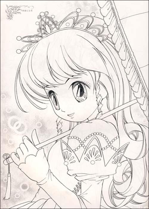 超炫版时尚描画美少女系列61典雅公主秀星座小魔女平装–2008年11月