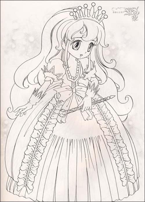 超炫版时尚描画美少女系列61典雅公主秀星座小魔女平装–2008年11