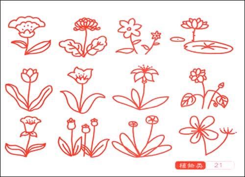 儿童简笔画是一种造型简单且可爱的绘画,也是儿童最容易掌握的绘画
