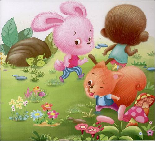 儿童故事插图 图片