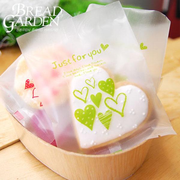 breadgarden面包家园半透明饼干塑料包装袋