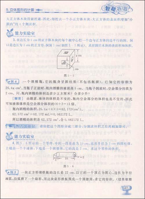 小学生智能开发天天练:数学(6年级)