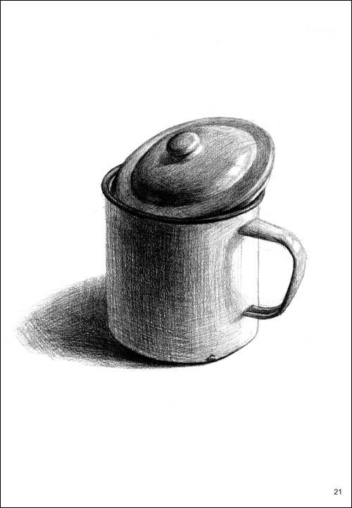 砂锅素描结构图