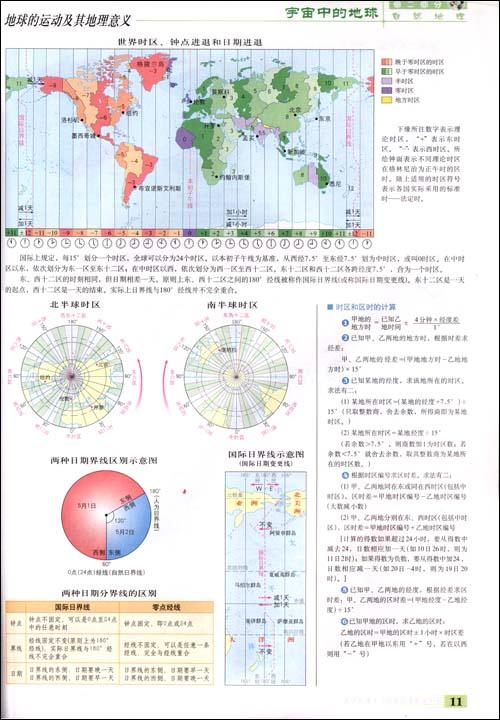 【高中地理学习与考试:实用地图册】在线部分阅读