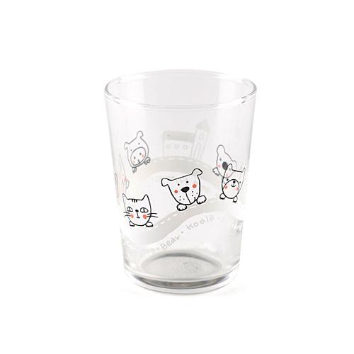 动物远足玻璃杯 白511-11278
