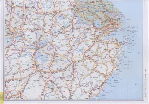 江苏周边地区图