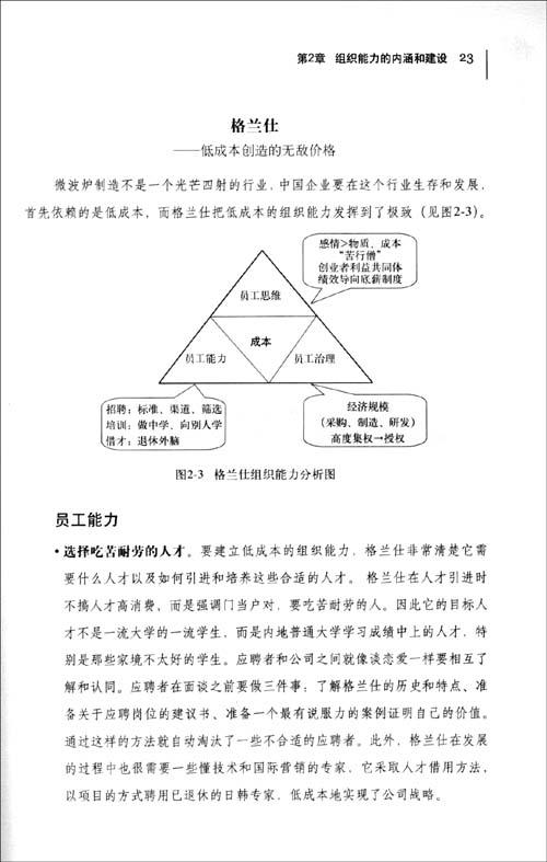 """组织能力的""""杨三角"""":企业持续成功的秘诀"""