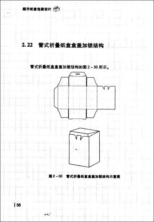 盘式包装设计展开图