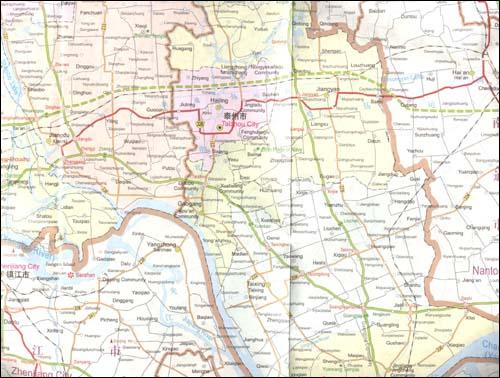 扬州旅游地图(英文版)/中华地图学社-图书-亚马逊