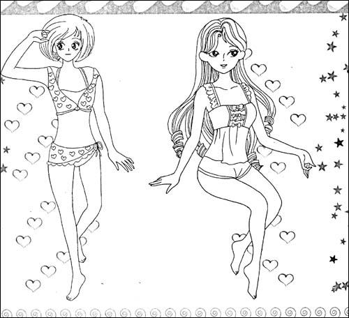 女孩子的最爱:芭比《小公主爱心故事》_乐乐简笔画