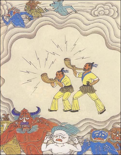 绘本中国神话故事宝石卷 图书杂志 文学