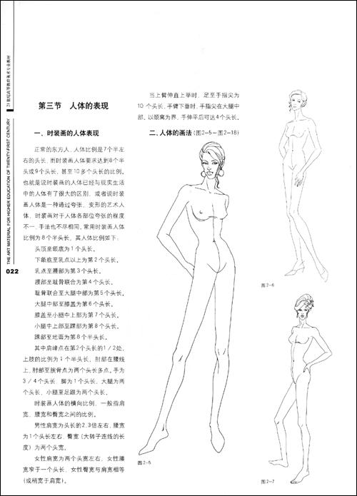 现代时装画表现技法 [平装]