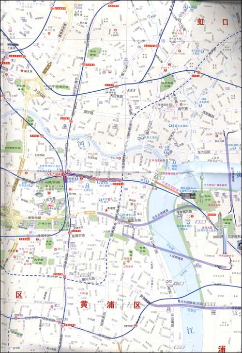 《上海市道路图(2011)(附地图专用放大镜)》