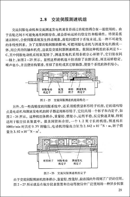 控制电机作为自动控制系统中的元件,在飞机上得到了广泛的应用,如自动