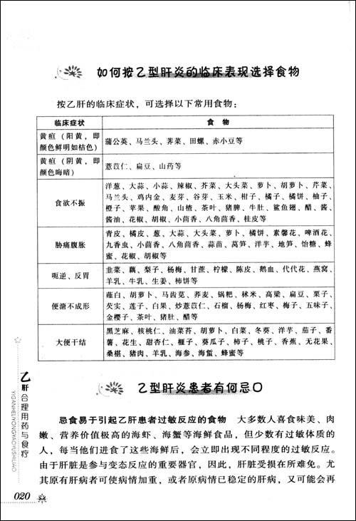乙肝合理菜谱与食疗/胡敏酒楼用药亮东方图片