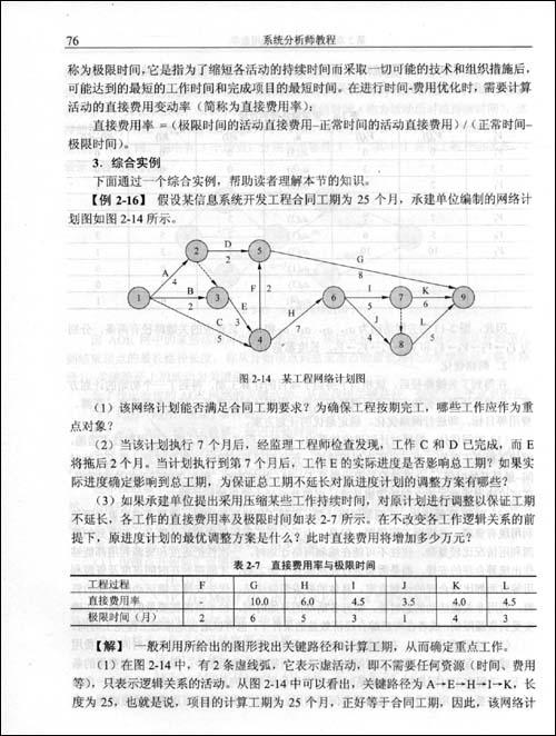 全国计算机技术与软件专业技术资格考试指定用书•系统分析师教程