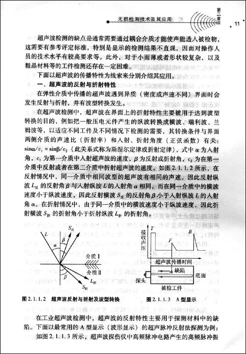 现代无损检测技术的应用范畴已经涉及航空与航天器,兵器,船舶,锅炉
