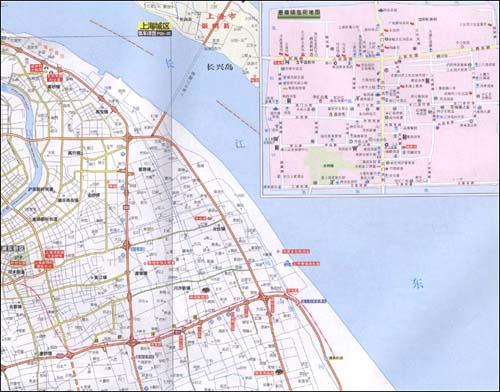 皖公路交通旅游地图集 山东省地图出版社