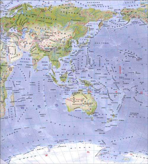 世界地图(知识版):亚马逊:图书