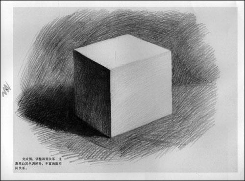 素描教程.石膏几何体