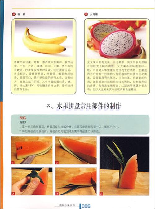图解水果拼盘