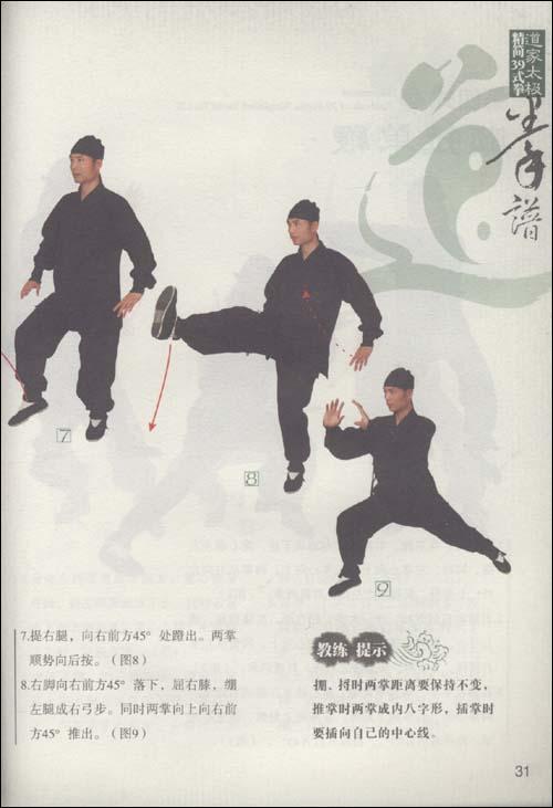 道家太极精简39式拳