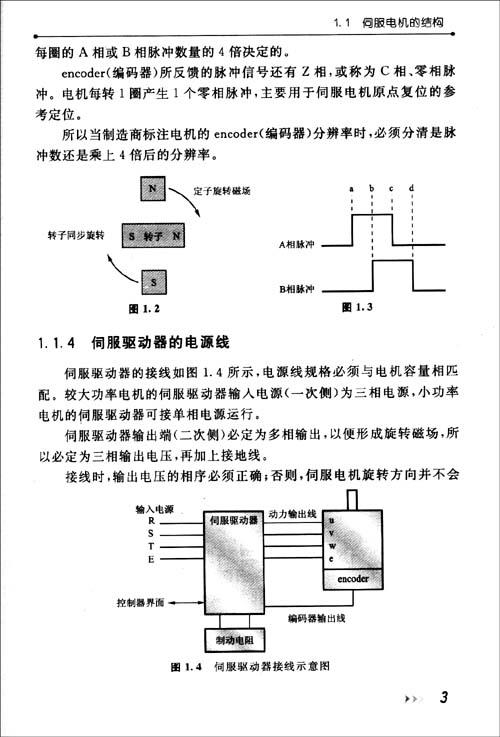 伺服电机应用技术
