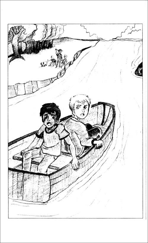 """第1章樱桃树的秘密   """"弗朗西斯!""""继父大喊,""""你能不能有点哥哥图片"""