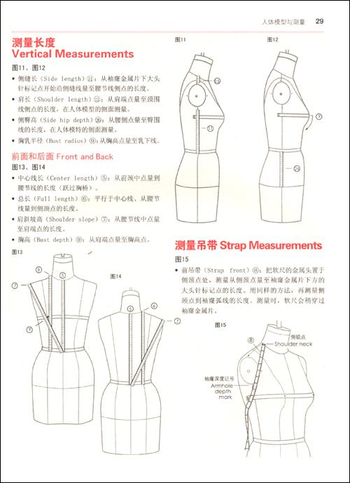 领口设计手绘图