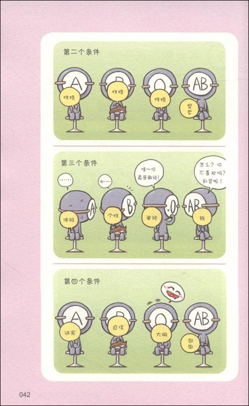 韩国漫画血型书完全版