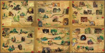 儿童手绘藏宝图