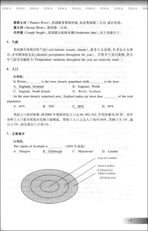 英语专业八级考试单项突破系列•人文知识与改错