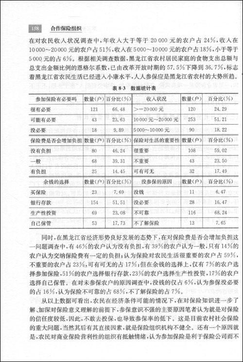 合作保险组织--中国农村社会保险新模式研究