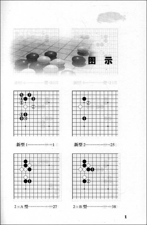 围棋新型:21世纪新定式和布局