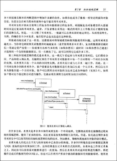 企业应用架构模式