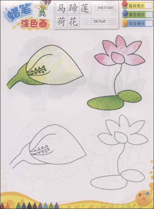 蜡笔涂色画61森林王国/李柯霏-图书-亚马逊 (500x675)